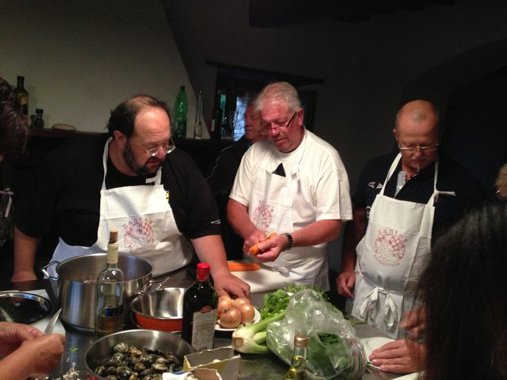 Evening Cooking Class with Sante de Santis