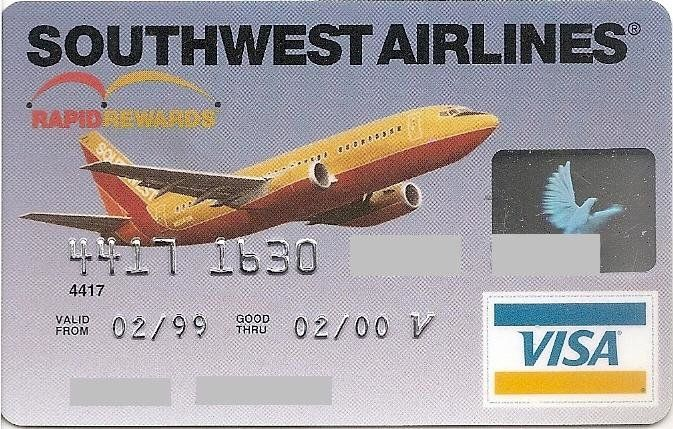 First USA Bank Southwest Airlines (First USA Bank, United States of America) Col:US-VI-0331