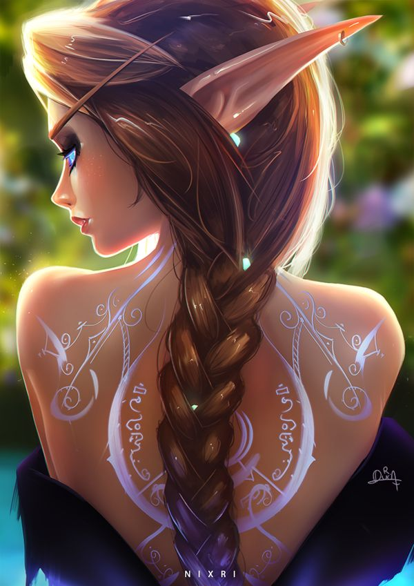 Arcane Mage by Nixri World of Warcraft Art Board ^^ // Blizzard // wow // // Dig… – Valerie Lavigne