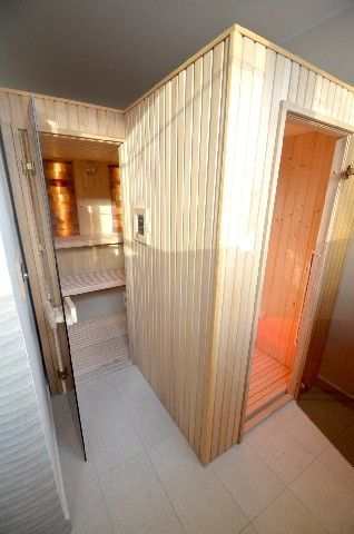 Finnish and infra sauna on the 1st floor of the hotel.