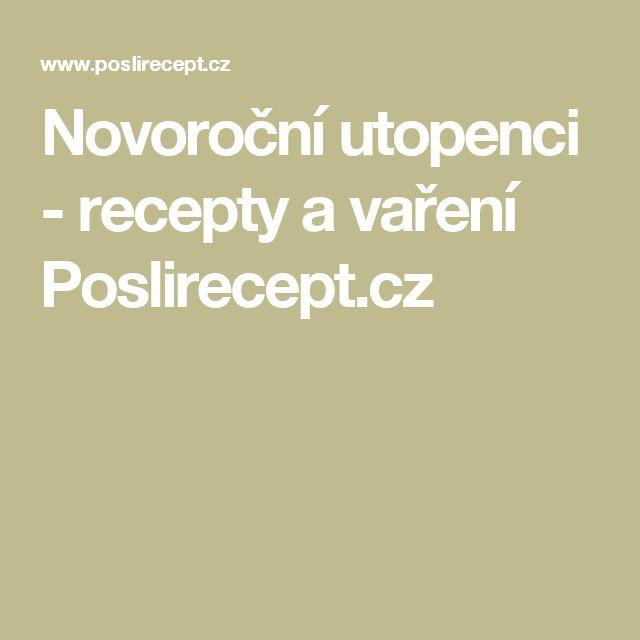 Novoroční utopenci - recepty a vaření Poslirecept.cz