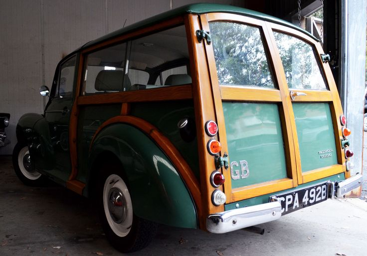 Blast from the past! #Morris Our 1964 Morris Minor 1000 Traveller will be on display at the Gosford Classic Car Museum in 2015.