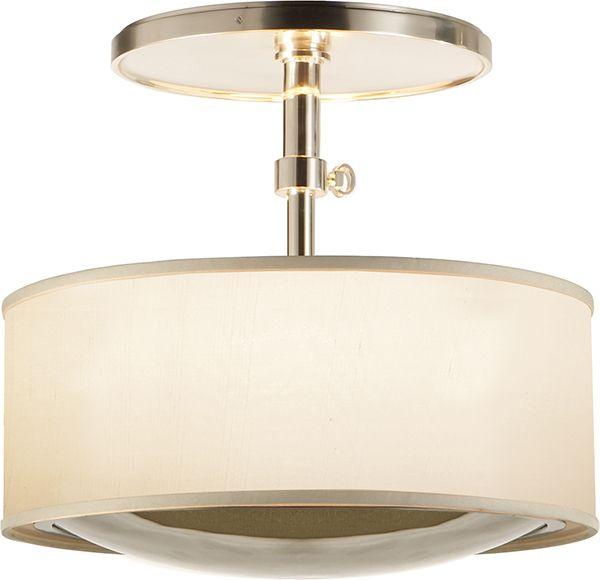 Possible Foyer Light. REFLECTION SEMI-FLUSH PENDANT