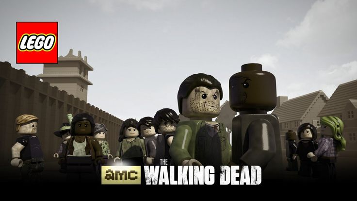 Lego The Walking Dead trailer
