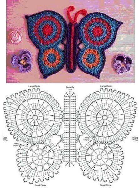 Ideas para el hogar alfombra t cnica ganchillo dise o for Disenos de ganchillo