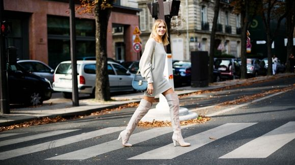 How to wear it: Over the knee boots