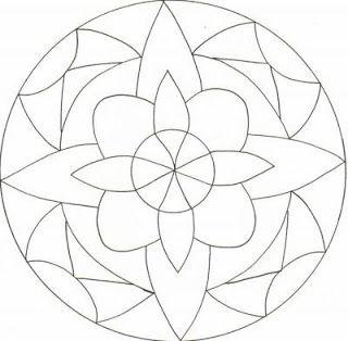 Mandalas for Painting: Geometric Mandalas