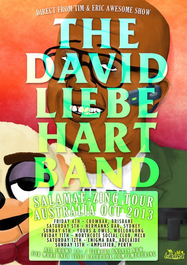 David Liebe Hart Band (USA - The Tim & Eric Awesome Show Great Job!) - Northcote Social Club 11 Oct 2013 - Info/tix: https://corner.ticketscout.com.au/gigs/1522-david-liebe-hart-band