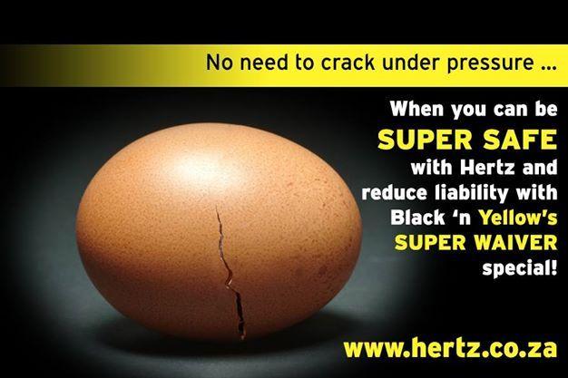 No need to crack under pressure