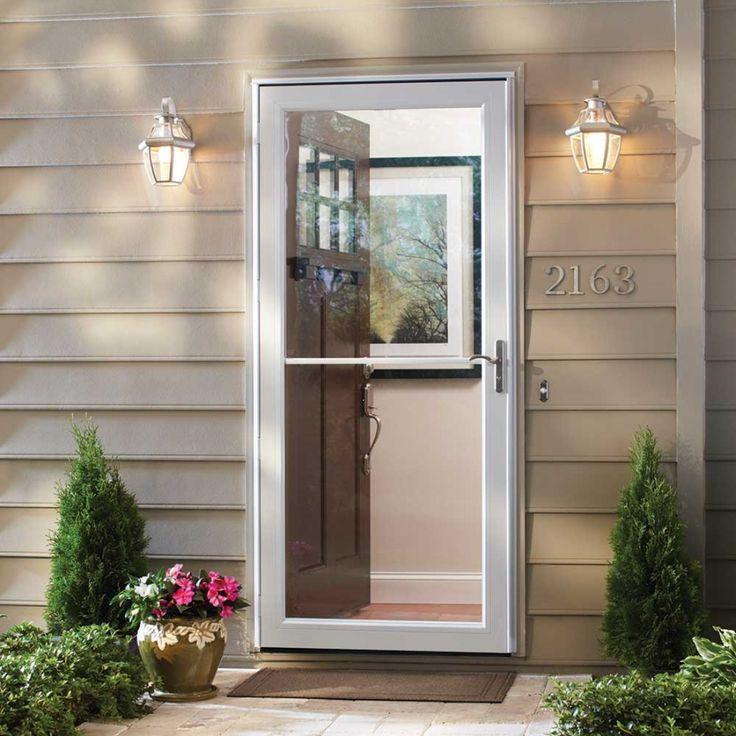 25 best ideas about andersen storm doors on pinterest for Andersen retractable screen door
