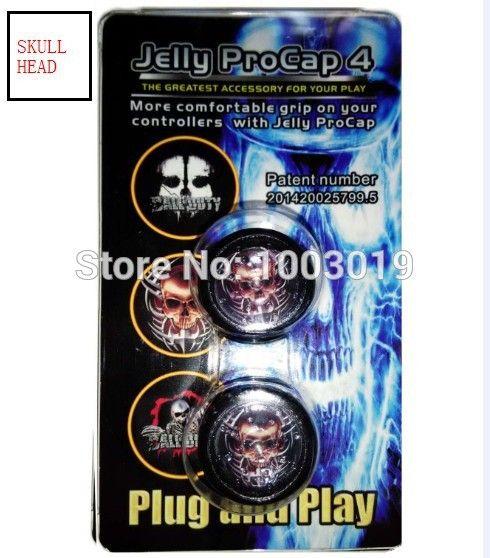 Желе Procap4 противоскольжения Резина Кремния Джойстик Захваты Палец Наклейка для Sony PlayStation 4 PS4 PS 4 Контроллера
