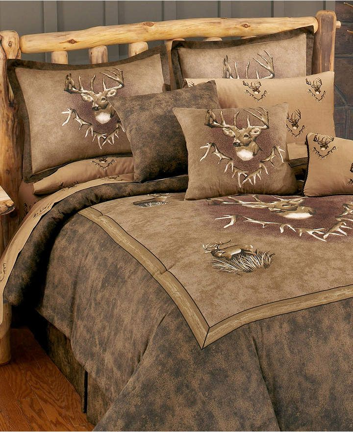 Blue Ridge Trading Whitetail Ridge Twin Comforter Set