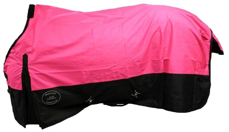 "70"" PINK Showman 600 Denier Waterproof Winter Horse Blanket NEW HORSE TACK! in Sporting Goods, Outdoor Sports, Equestrian 