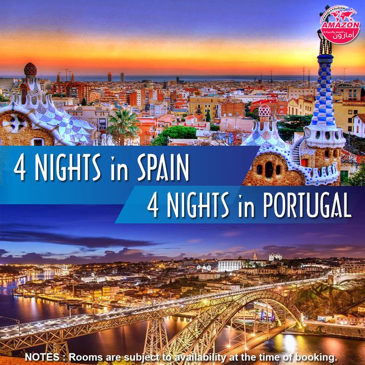 Explore #Spain and #Portugal during a 9 days/8 nights holiday.  Package Includes : ➣ 02 Nights stay at #Barcelona ➣ 02 Nights stay at #Madrid ➣ 02 Nights stay at #Lisbon ➣ 02 Nights stay at #Porto ➣ Daily Breakfast ➣ Private Barcelona Transfer (Airport – Hotel – Station) ➣ Private Madrid Transfer (Station – Hotel – Airport) ➣ Private Lisbon Transfer (Airport – Hotel – Station) ➣ Private Porto Transfer (Station – Hotel – Airport) ➣ Barcelona Hop on Hop off - 24 Hours