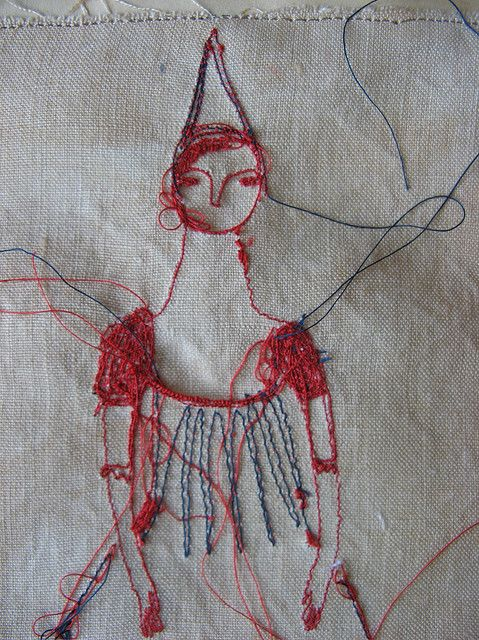 Cathy Cullis: Embroidery Embroidery, Embroidery Portraits, Crafts Art, Cathy Culli, Enchanted Embroidery, Textiles Artists, Inspiration Handcrafted, Artists Cathy, Fiber Artists Portraits