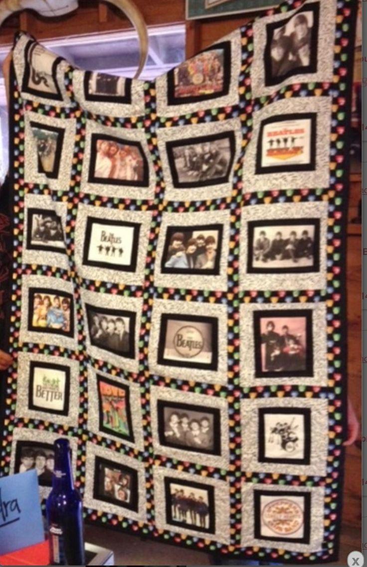65 Best Beatles Quilt Images On Pinterest The Beatles