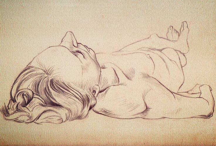 #nude #nudesketch #sketch #instaart #girl #girlsketch #quicksketch #pencil
