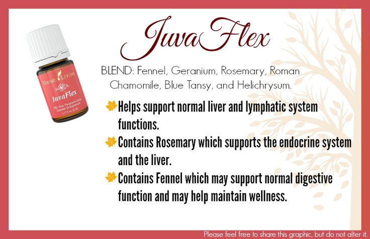 Juvaflex Is A Combination Of Oils That Have Been Studied