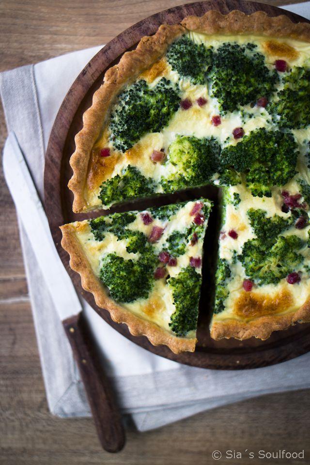 Brokkoli-Quiche (Vegan Recipes Broccoli)