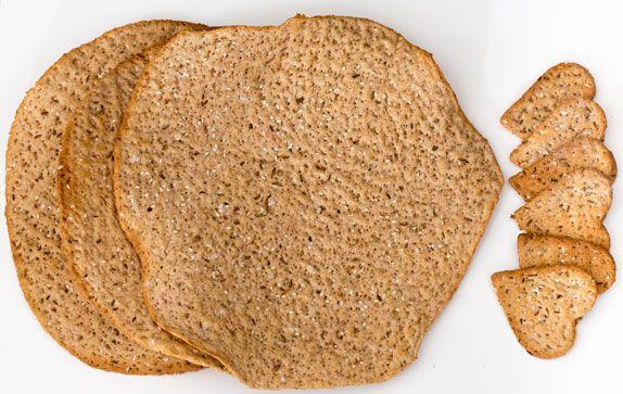 Swedish Knäckebröd (Rye crispbread) recipe, cracker bread