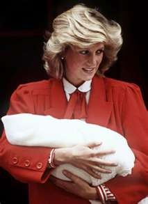 Diana with Prince Harry