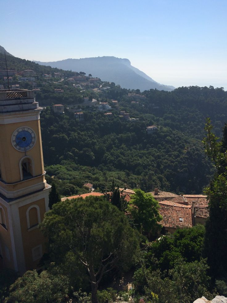 A View from atop Eze