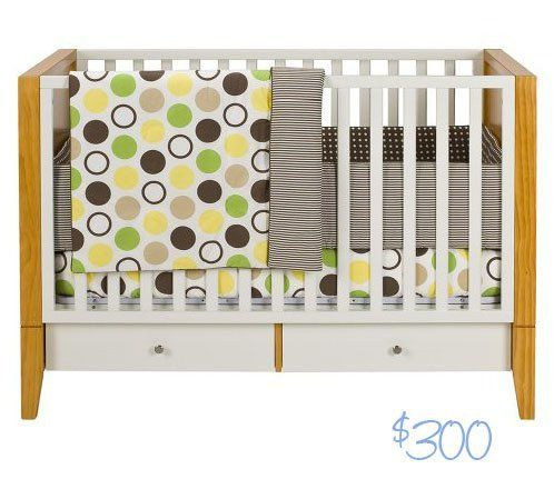budget basics modern baby cribs - Modern Baby Cribs