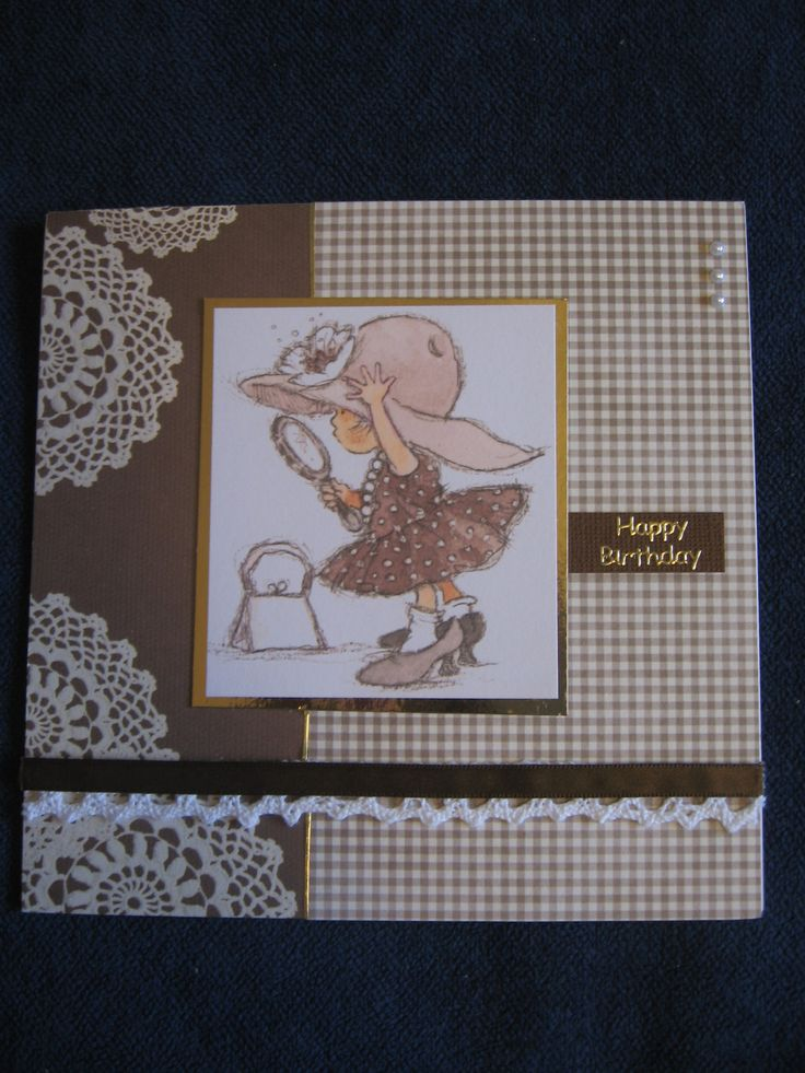 Lili of the Valley Art Pad Just for Girls topper.