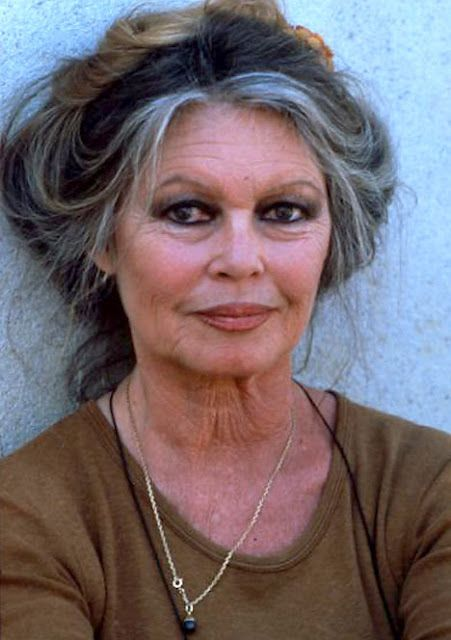 Brigette Bardot.  So beautiful and so nice to NOT see Botox or a nip & tuck.