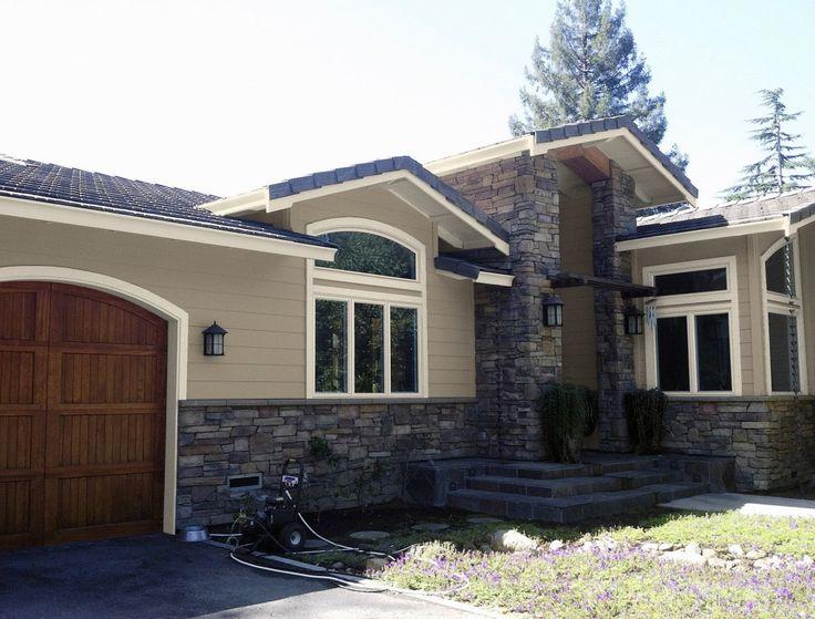 Big Sur Residence Scheme 12 1024x778 Kelly Moore Paint Colors Ironwood And Bone Exterior Color Scheme