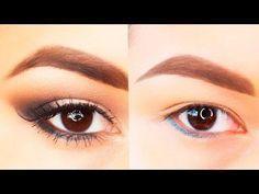 Cómo maquillar ojos pequeños hinchados y caídos para verte más favorecida
