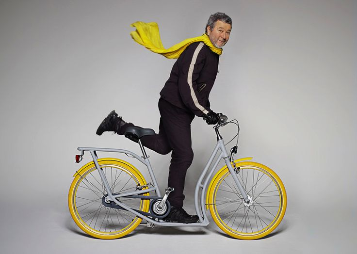 Pibal, le concept de vélo trottinette par Philippe Starck - Blog Deco Design