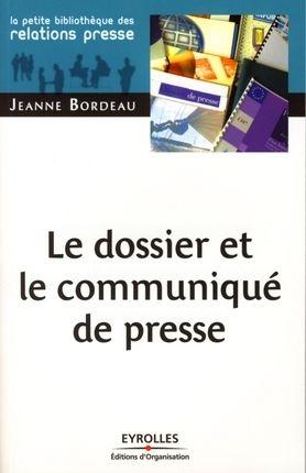 Le dossier et le communiqué de presse - Jeanne Bordeau - Librairie Eyrolles