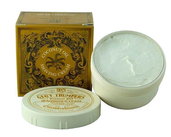 Geo F Trumper Coconut Oil Shaving Cream Bowl