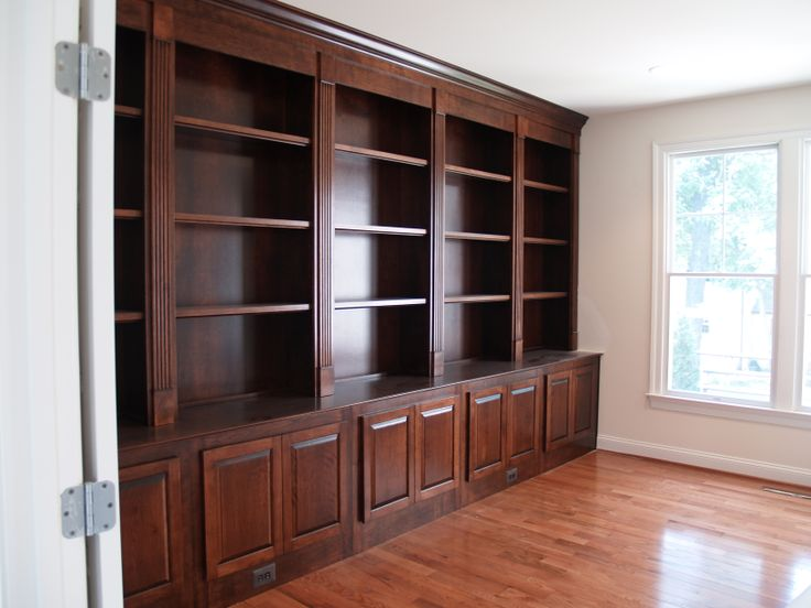 Finished Stained Bookcase For Library From John Kinter S Cabinet
