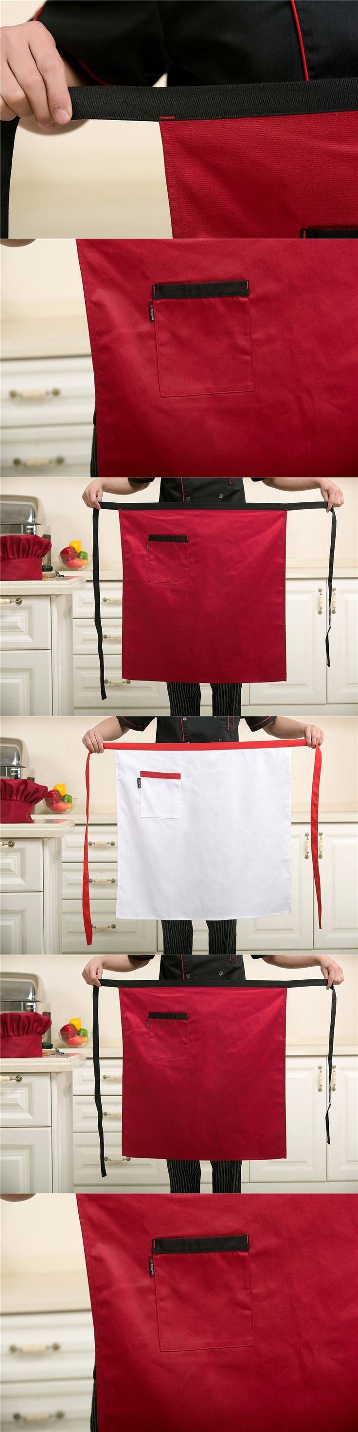 Hotel supplies waiter restaurant apron kitchen chef half waist kitchen aprons