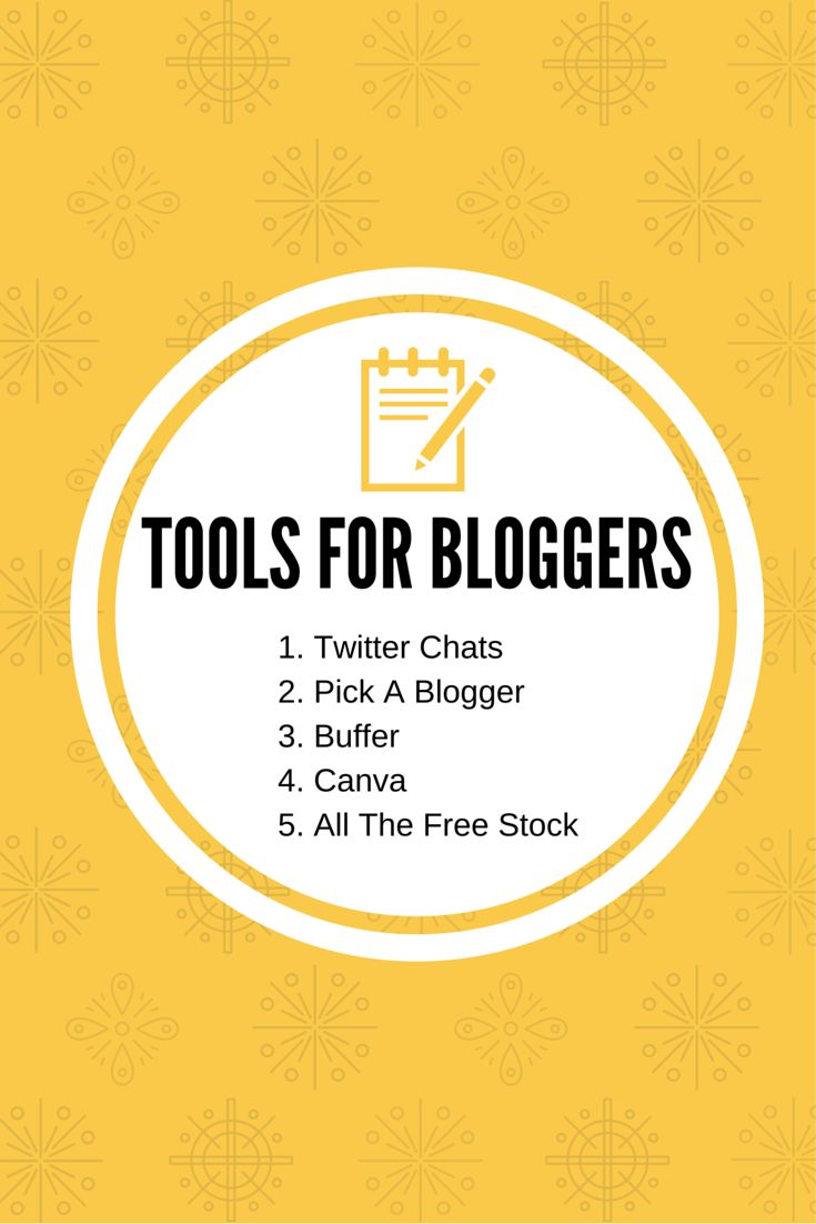 Best tools for bloggers on https://samanthacarraro.wordpress.com/lifestyle/best-tools-for-bloggers/ | Tools for bloggers | Graphic Design | Communities | Social Medias | Marketing | Advertising