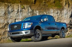 2016 Nissan Titan XD Gains 5.6-Liter Gasoline V-8 Engine. Engine available in both Titan and Titan XD.