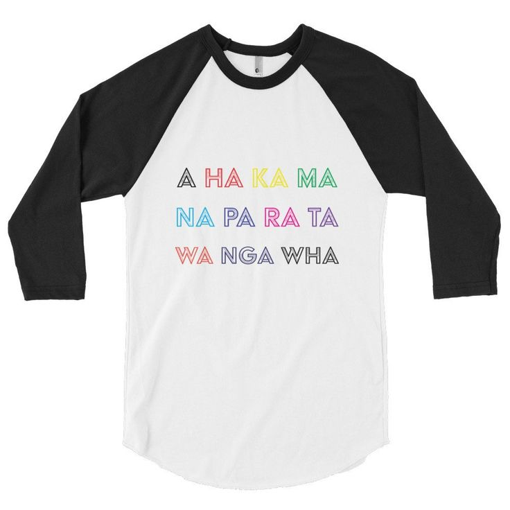 A HA KA MA Gris - 4NZ 3/4 sleeve raglan shirt