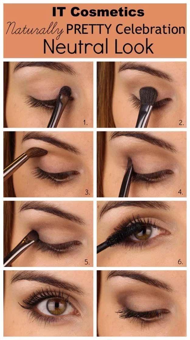 DIY Makeup Tutorials : Everyday Eyes | Eyeshadow For Brown Eyes | Makeup Tutorials Guide
