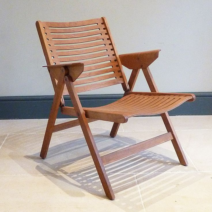 The Rex chair by Slovenian architect/designer Niko Kralj (1920-2013), from Foster & Gane, @decorativefair