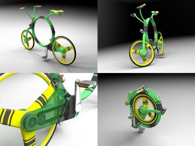 Locust, vélo pliant concept