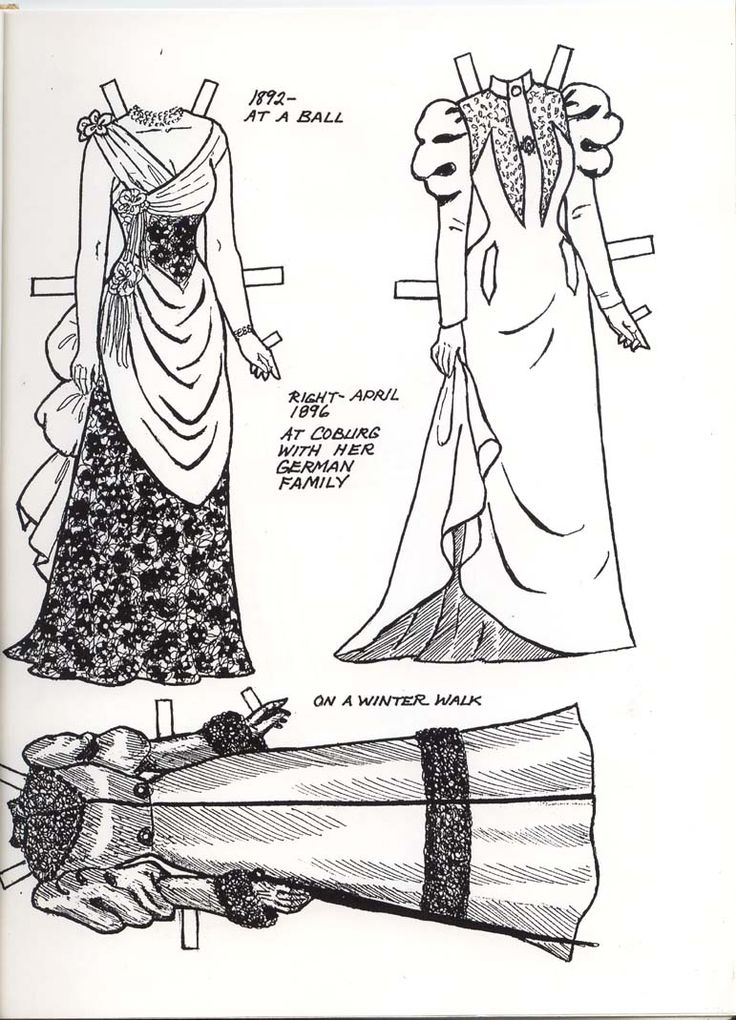 QUEEN MARY PAPER DOLL CONTINUED