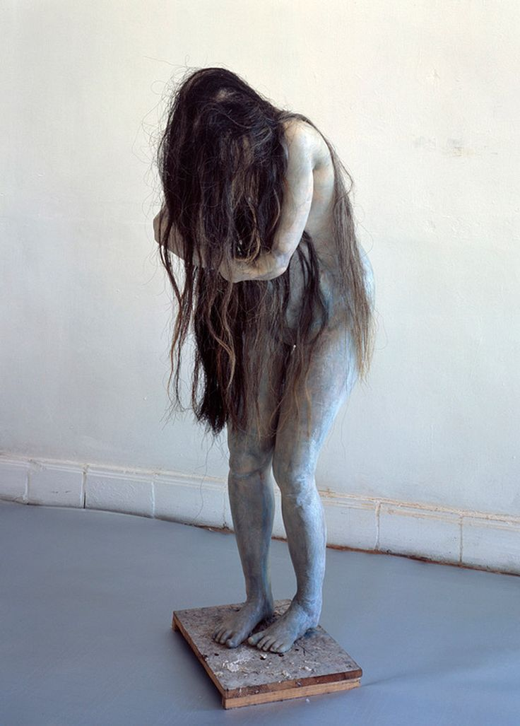 Eerie, but breathtaking. Sculpture by Berlinde de Bruyckere. I love her work