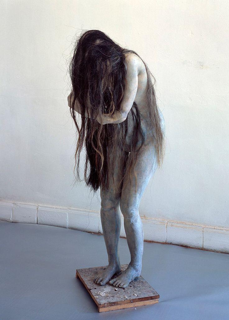 Eerie, but breathtaking. Sculpture by Berlinde de Bruyckere. I love her work