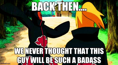 naruto #tobi The truth is out when we're least expect it :P ...