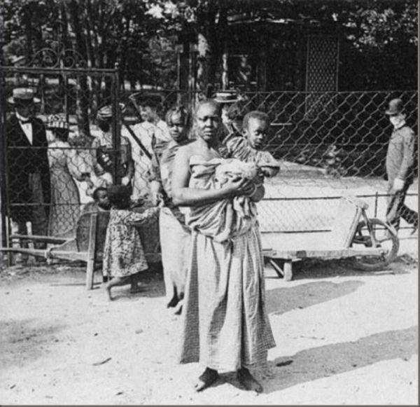 """In the late 1800s to well into the 1900s, Europeanscreated """"human zoos"""" in cities like Paris; Hamburg, Germany;Antwerp, Belgium;Barcelona, Spain;London; Milan; Warsaw, Poland;St Louis;and New York City. These were popular human exhibits where whites went to watch Black people who were on display. The Black people were usually forced to live behind gates and in …"""