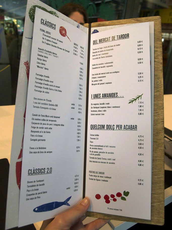 tapas menu template - 18 best menu designs images on pinterest menu cards