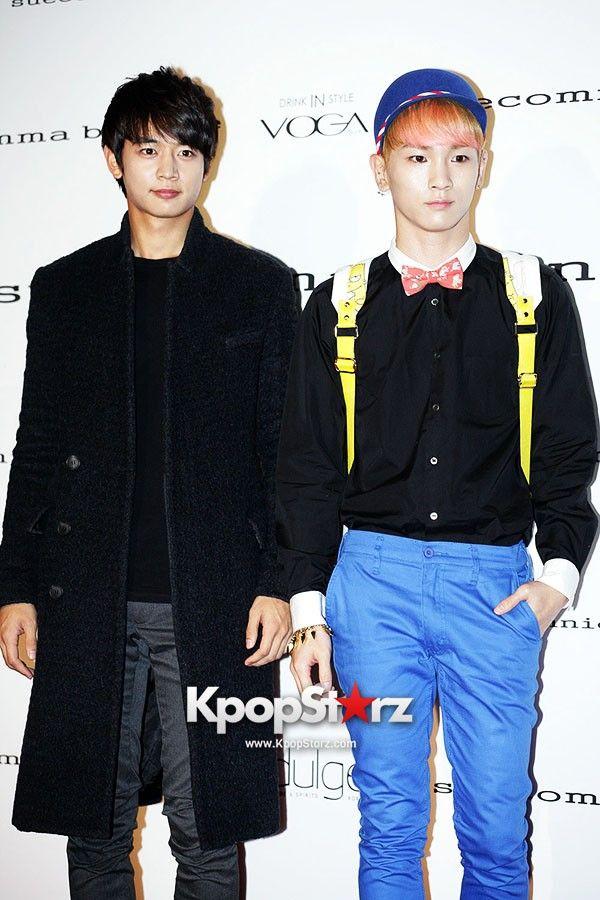 Minho and Key at 'Suesomma Bonnie' Fashion show