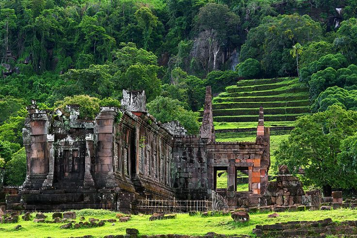 Laos: Bun Wat Phu Champasak